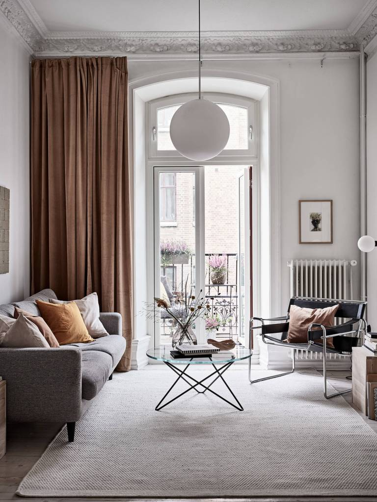 Stadshem living room