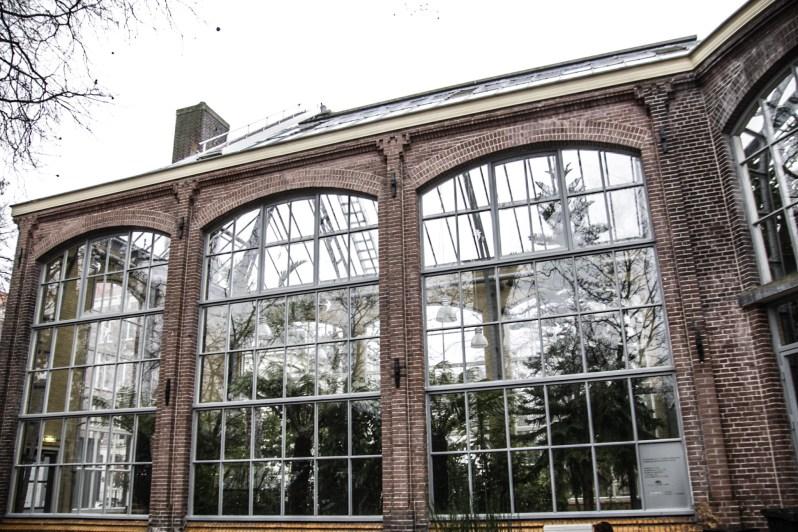 Hortus Botanicus Amsterdam architectuur