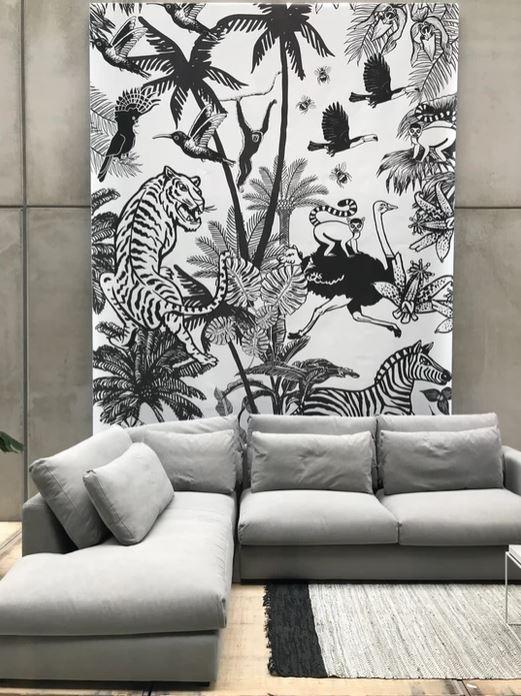 Zoe-Corbey-Wallpaper-zwart-wit-behang
