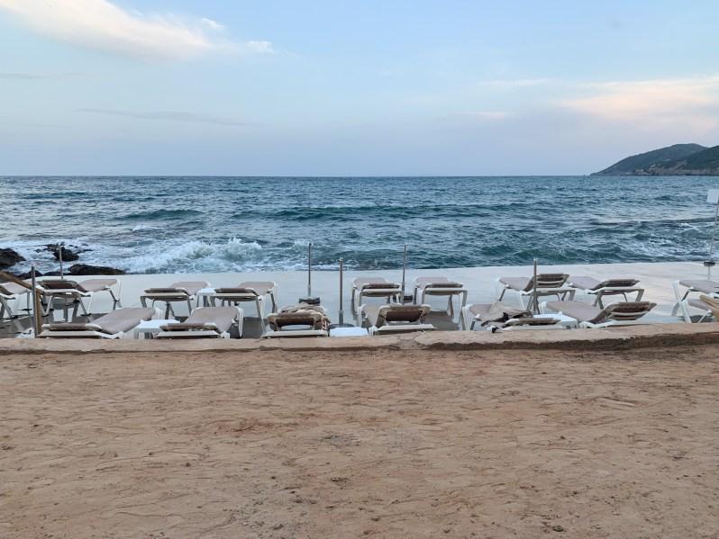 Ibiza-strandbedjes