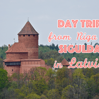 A day trip from Riga to Sigulda