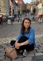 Eduina Kica, studente mjekësie. Foto: Private