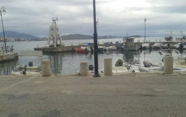 Limani gjatë muajve të verës.