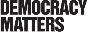 Democracy Matters logo