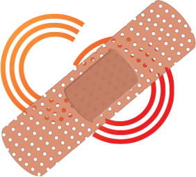 Citizen Science Association logo with bandaid overlayed