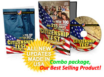 You get what you pay for. Make sure you get the best! Citizenship Coach's #1 selling citizenship CD in America!