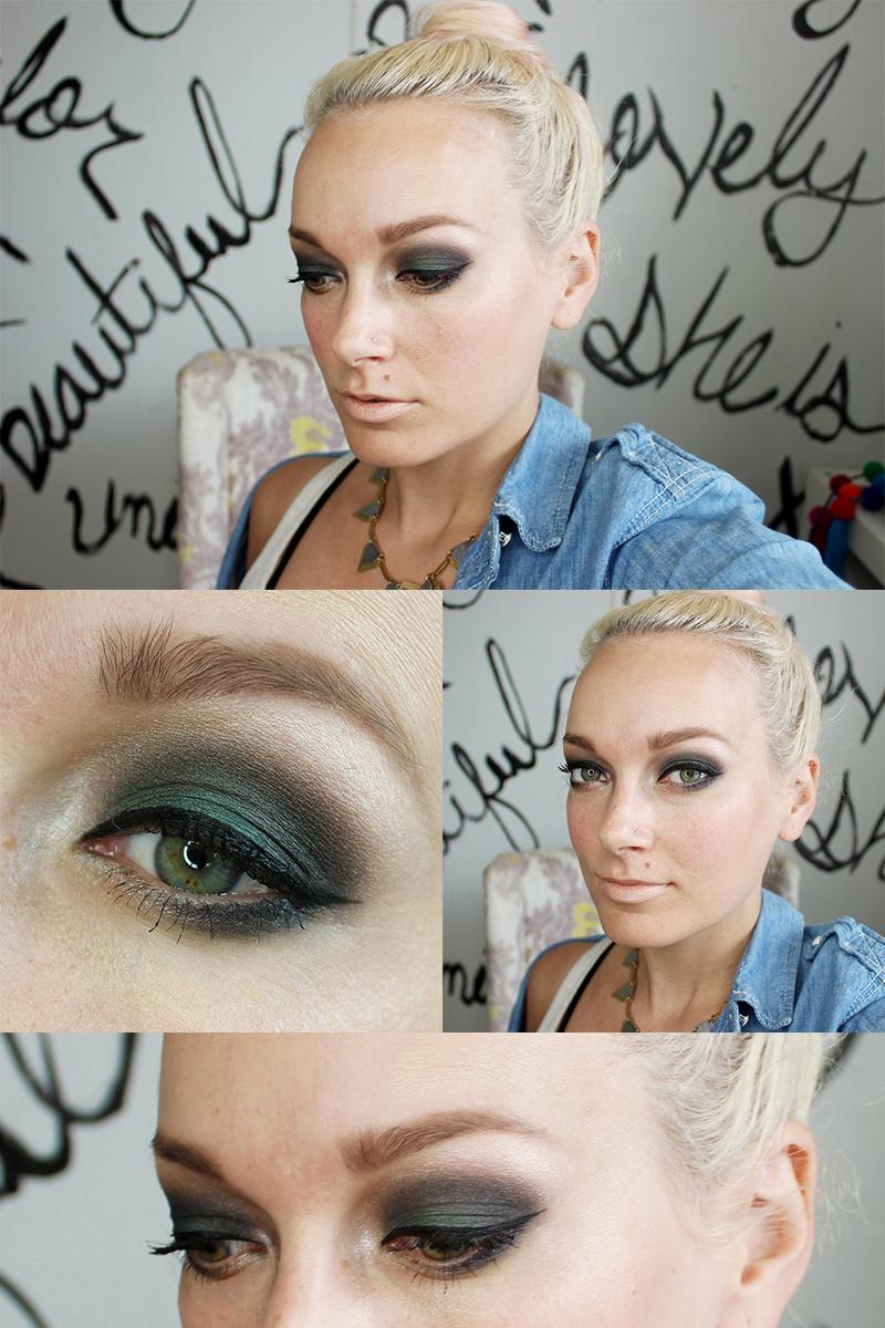 Teal Smokey Eye Makeup Tutorial Makeupview