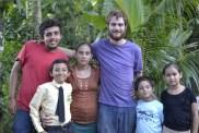 Aaron (volunteer), Alvi, Elda, Dan (volunteer), Eric & Maykelli