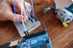 making an LED blink