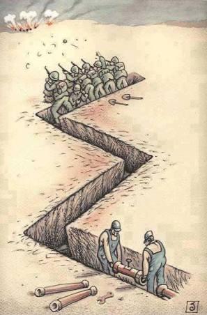 The modern war logic