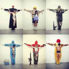 Art by Erik Ravelo: http://erikravelo.info/los-intocables/
