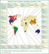 GMO crops worldwide