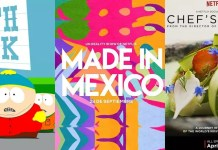 ©Comedy Central ©Netflix South Park Made in Mexico Chefs Table Serien Trailer Time