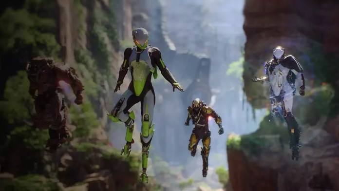 ©EA Bioware Anthem lets play
