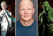©Warner Bros/Brezinski Photography Swamp Thing Cast Hauptrolle Andy Bean Derek Mears