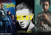 ©Amazon Studios Beat ©USA Network The Sinner ©The CW Black Lightning Serien Trailer Time