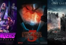 ©HBO/Netflix/Disney/The-Dark-Mamba-995 Avengers 4 Game of Thrones Staffel 8 Stranger Things Staffel 3 HBO Disney Netflix Streaming Trailer Teaser