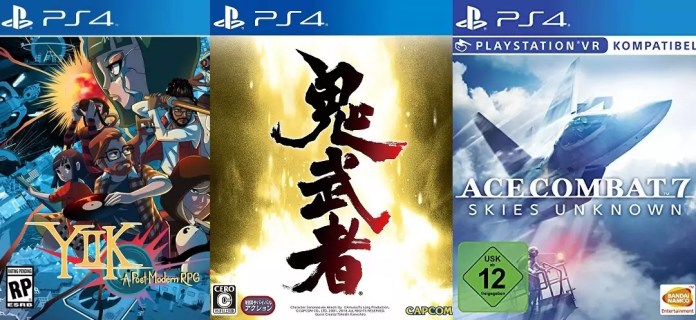 ©Ackk Studios ©Capcom ©Bandai Namco YIIK A postmodern rpg onimusha warlords ace combat 7 unknown skies games trailer time