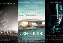©Warner Bros. ©Entertainment One ©Sony Pictures the mule green book the possession of hannah grace kino trailer time
