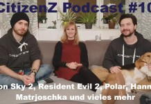 CitizenZ Podcast #10, CitizenZ Podcast, Iron Sky The Coming Race, Iron Sky 2, Resident Evil 2, Resident Evil 2 Remake, Matrjoschka, Polar
