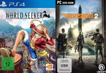 ©Bandai Namco ©Ubisoft one piece world seeker tom clancys the division 2 games trailer time