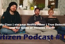 CitizenZ Podcast 12, Deadly Class, True Detective Staffel 3, Game of Thrones, Game of Thrones Staffel 8, Paddleton