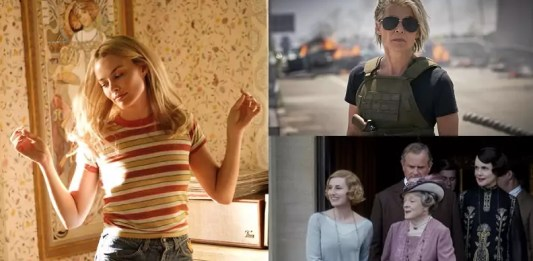 ©20th Century Fox ©Sony Pictures ©The Walt Disney Company ©Universal Pictures dark phoenix terminator dark fate once upon a time in hollywood, toy story 4, downton abbey, kino trailer