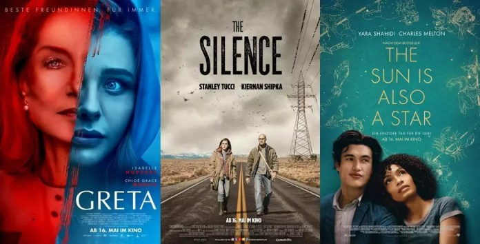 ©Capelight Pictures ©Constantin Film ©Warner Bros Greta The Silence The Sun Is Also A Star Kino Trailer Time