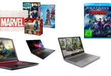 ©Marvel ©Disney ©Acer ©Asus ©Lenovo Amazon Angebote Deals