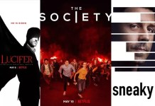 ©Netflix ©Amazon Lucifer staffel 4 the society staffel 1 sneaky pete staffel 3