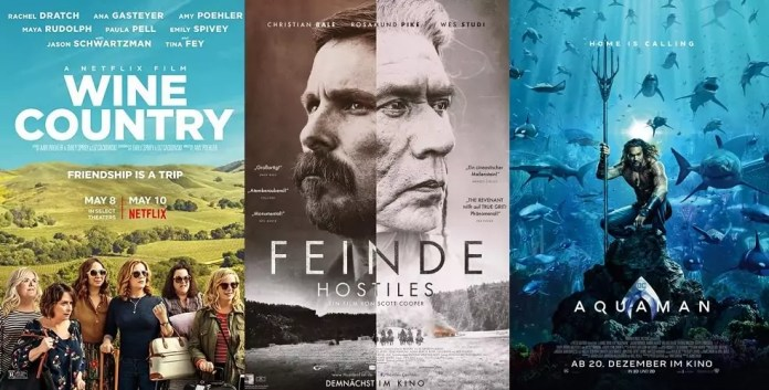 ©Netflix ©Universum Film ©Warner Bros Wine Country feinde hostiles aquaman
