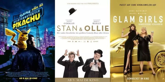©Warner Bros ©Square One Entertainment ©Universal Pictures pokémon meisterdetektiv pikachu stan & Ollie glam girls hinreißend verdorben