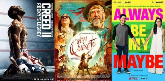 ©Warner Bros. ©Concorde Filmverleih ©Netflix Creed 2 rockys legacy, the man who killed don quixote, always be my maybe, film trailer time