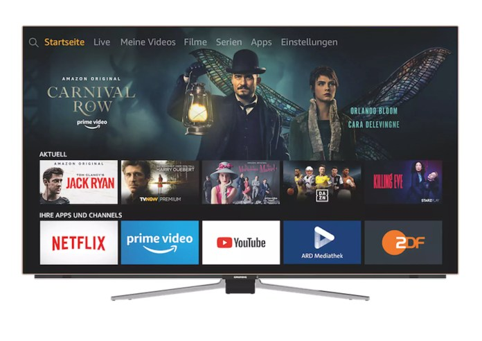 Grundig OLED Fire TV Edition Hands Free mit