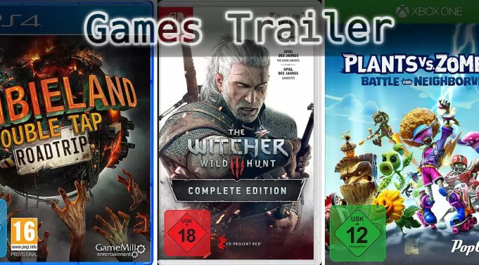 It's Games Trailer Time: Zombieland, The Witcher & Plants vs. Zombies