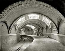 La station City Hall du métro new-yorkais, 1904
