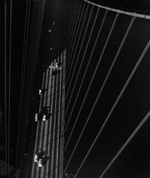 Tour nord du Golden Gate de San Francisco, 1947 par John Gutmann
