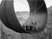 La turbine du barrage Hoover Dam