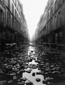 L'inondation de 1910 à Paris
