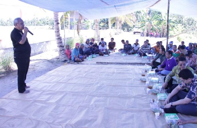 Bupati dan Wabup Ikut Serta Dalam Panen Raya di Desa Sajau Hilir