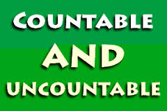 Count Nouns and NonCount Nouns