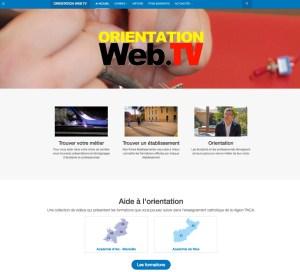 orientationweb TV (Bootstrap et Joomla)