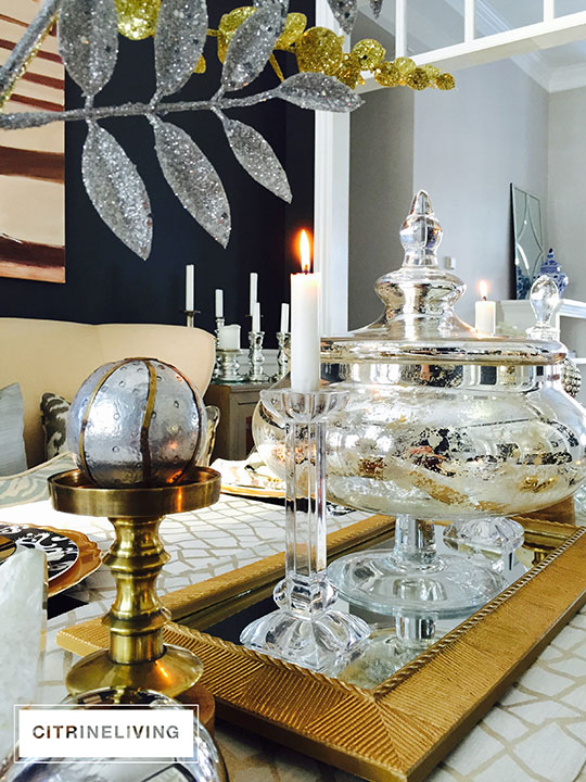 decorating and styling with trays