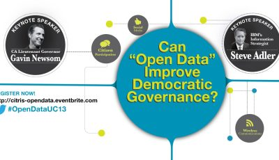 Upcoming Open Data Conference at UC Berkeley Attracting World Wide Audience