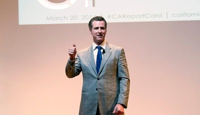 """Let's amplify California's collective intelligence"", Op-ed by Prof. Goldberg and Gavin Newsom"