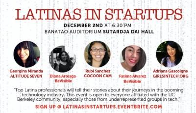 BeVisible: Latinas in Startups – Dec. 2