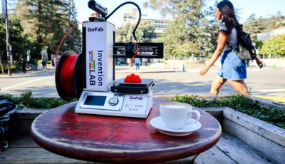 GoFab: CITRIS Invention Lab launches 3D printer lending library