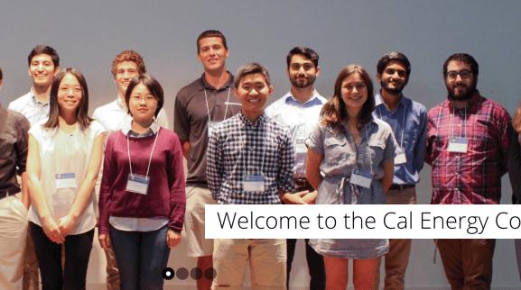 Cal Energy Corps homepage screenshot