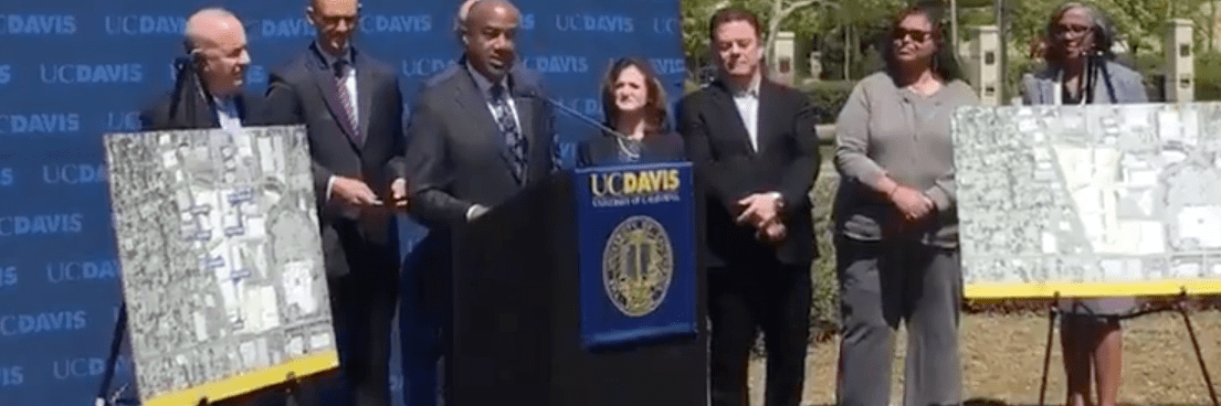 New UC Davis tech campus in Sacramento, California