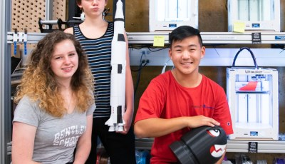 Young summer interns design and create in CITRIS Invention Lab